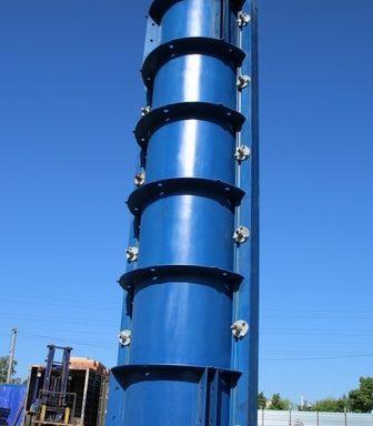 Опалубка круглых колонн
