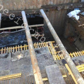 Строительство подземного перехода Динамо