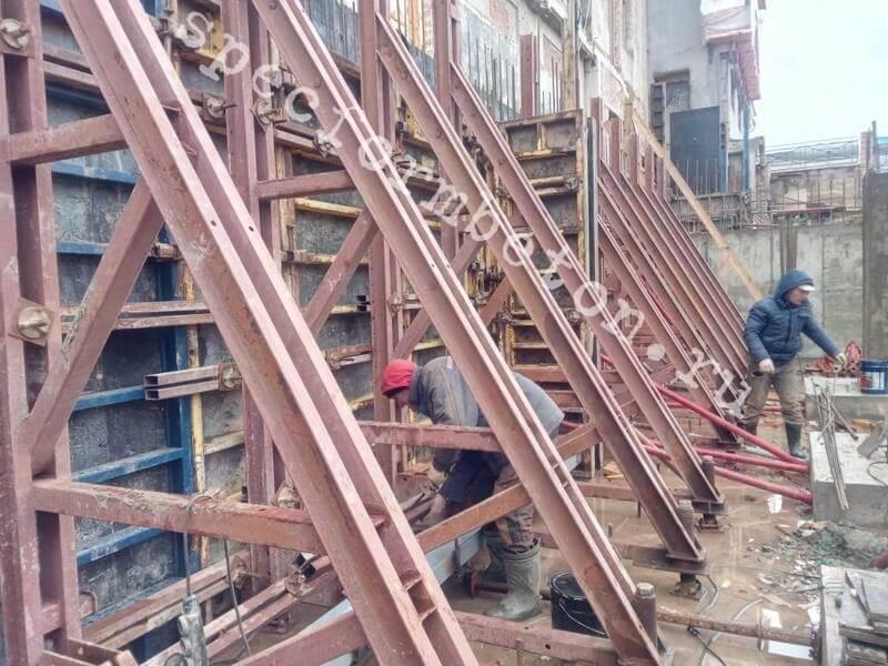 Аренда и продажа опалубки для монолитного строительства в Москве